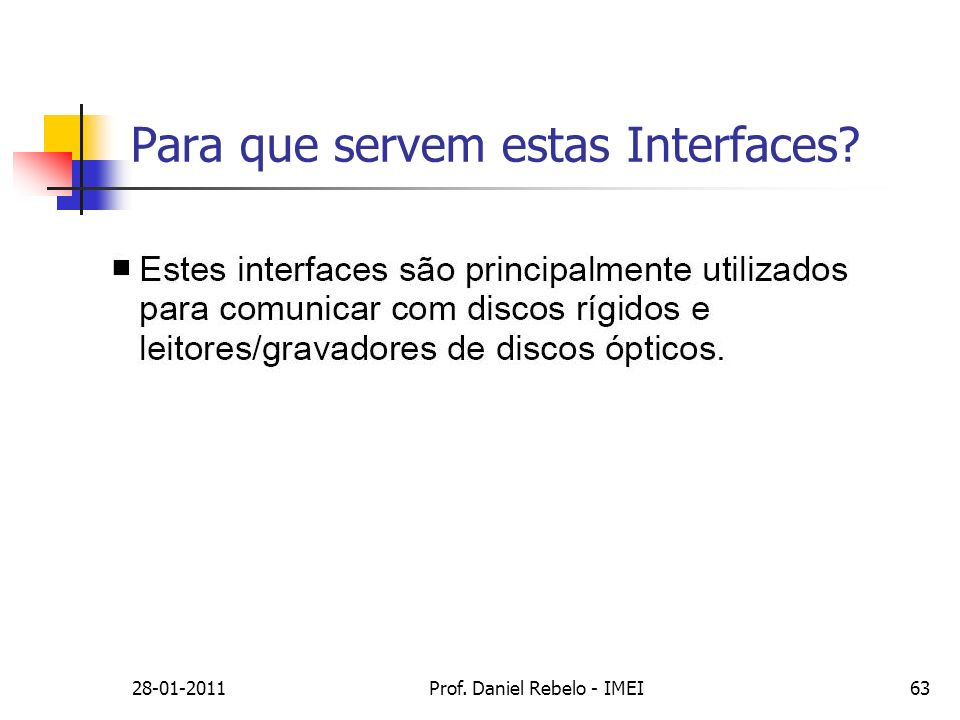 Para que servem estas Interfaces
