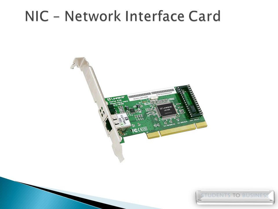 NIC – Network Interface Card