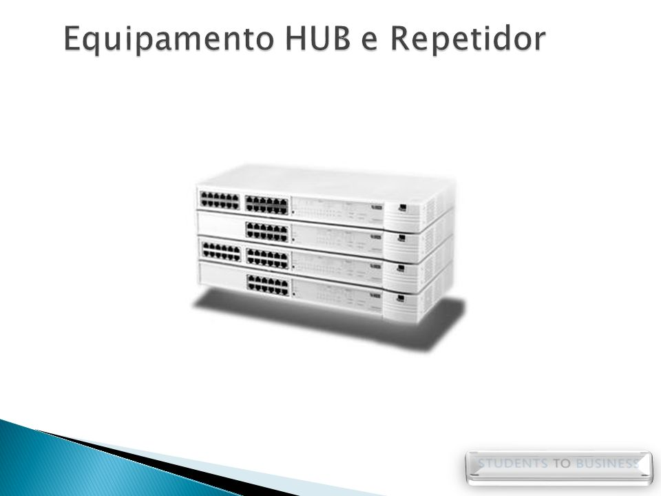 Equipamento HUB e Repetidor