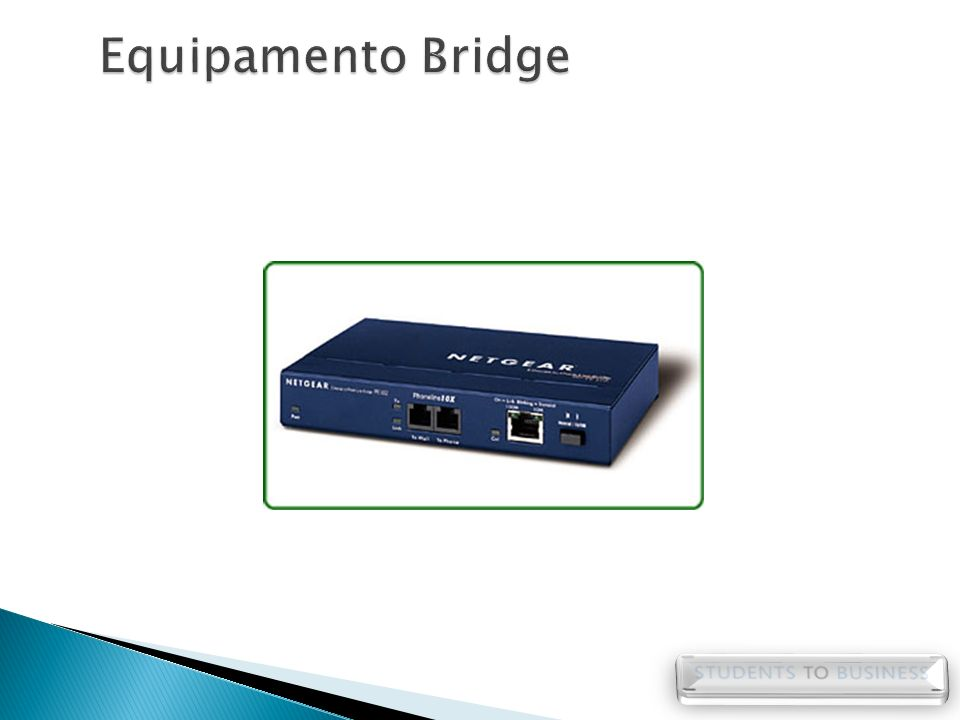 Equipamento Bridge
