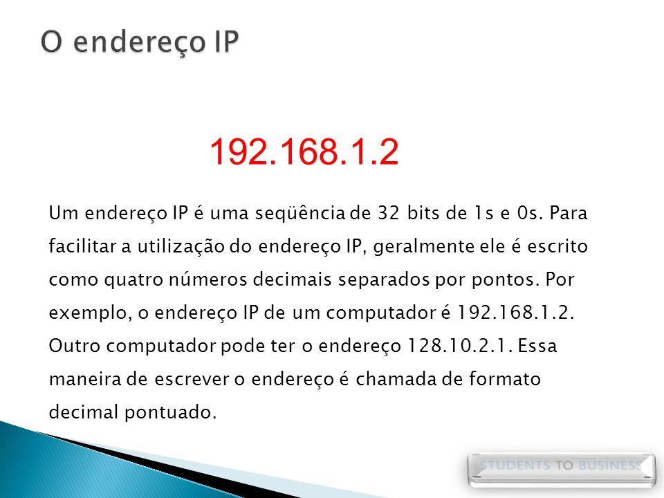 O endereço IP 192.168.1.2.