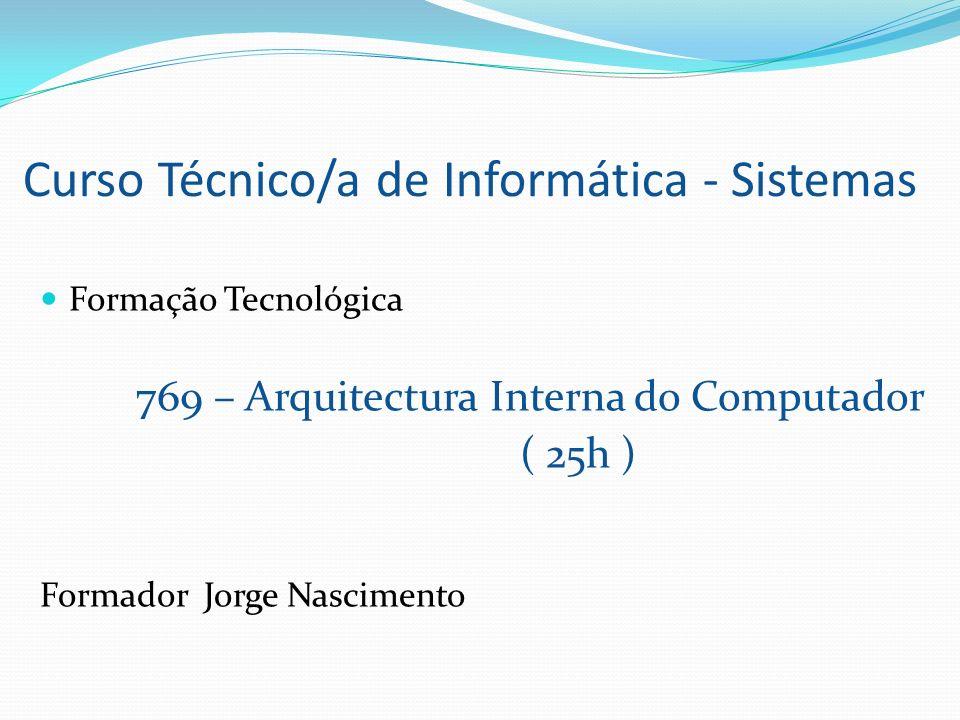 Curso Técnico/a de Informática - Sistemas