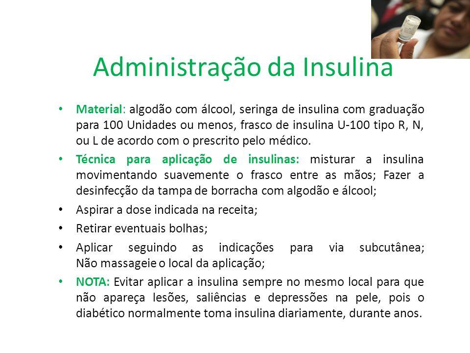 Administração da Insulina
