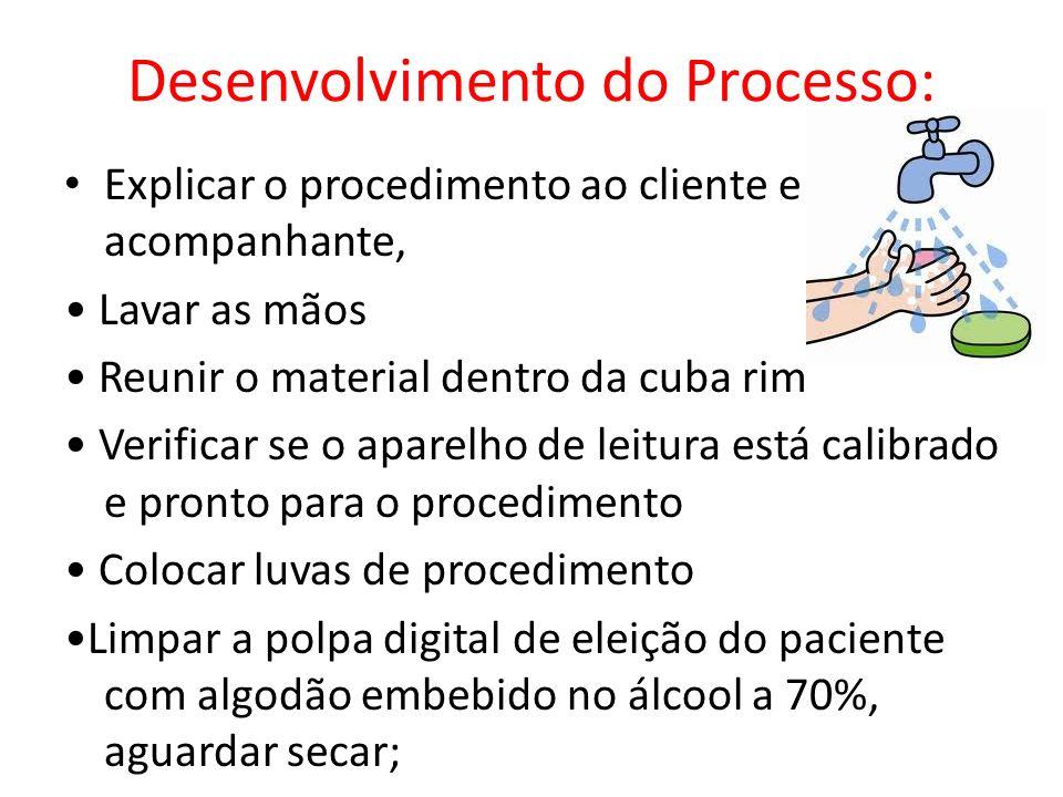 Desenvolvimento do Processo: