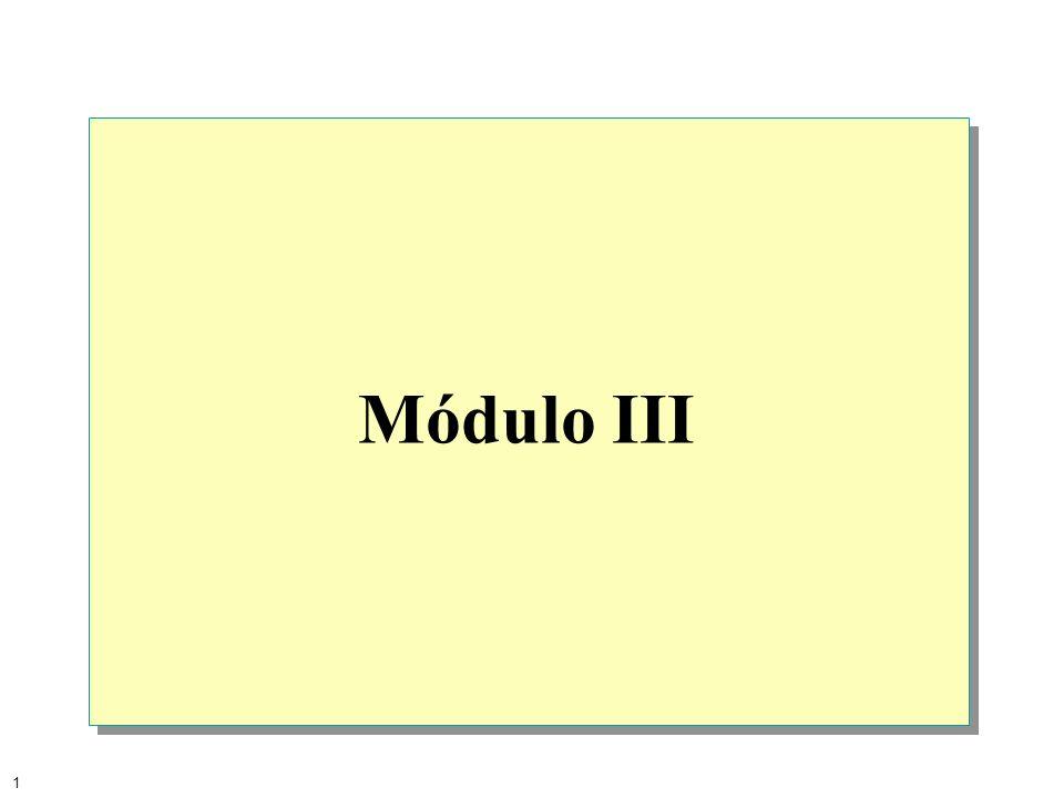 Módulo III