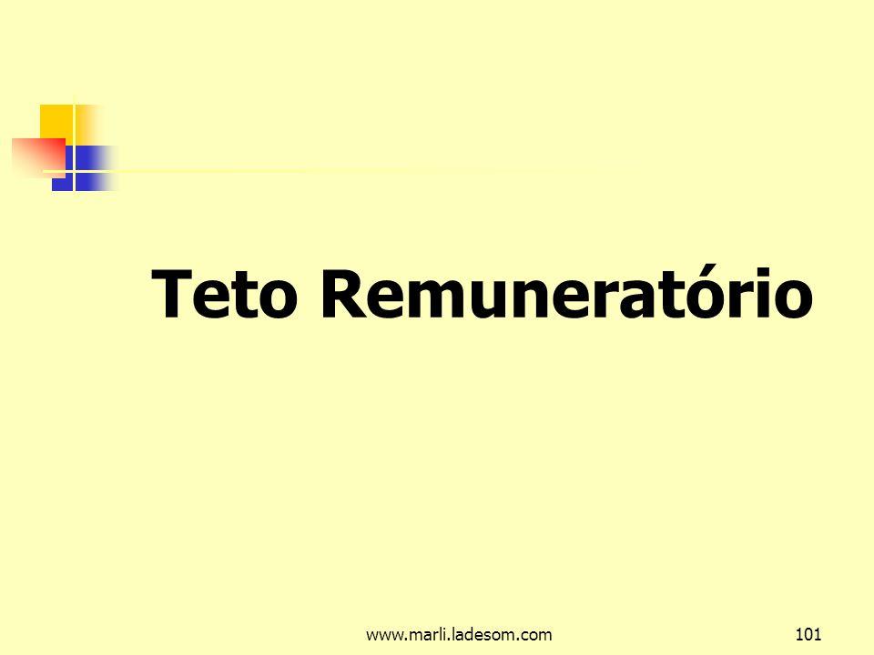 Teto Remuneratório www.marli.ladesom.com
