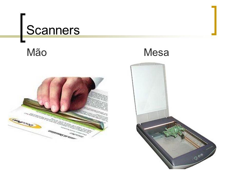 Scanners Mão Mesa