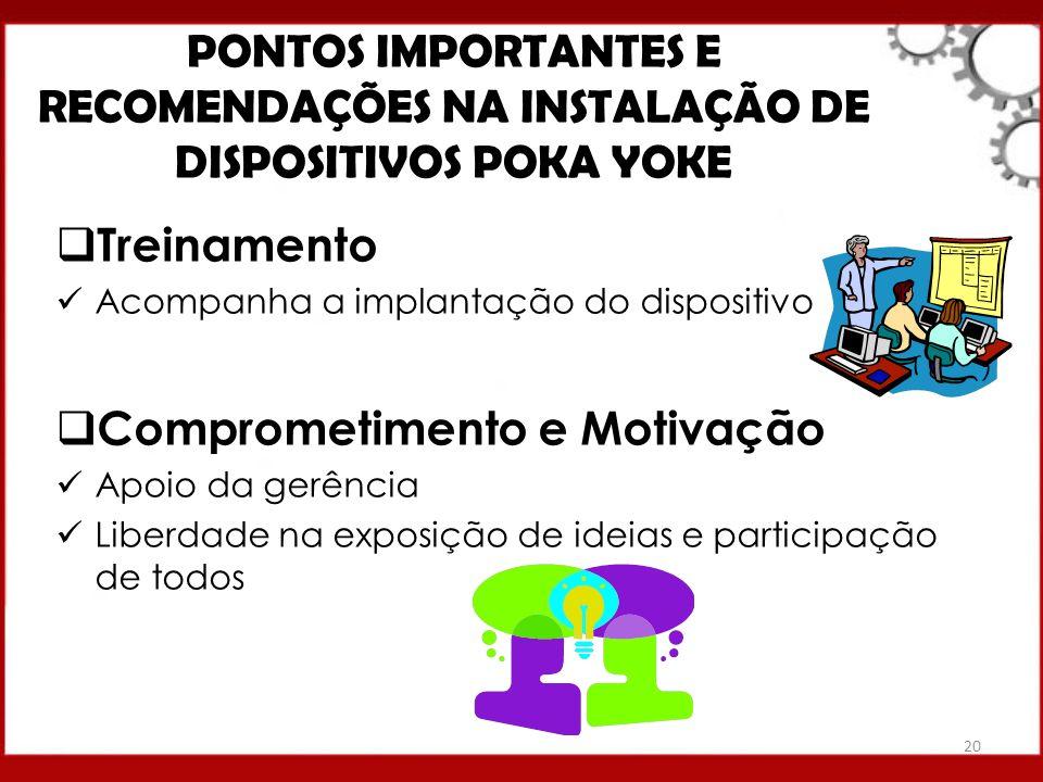 PONTOS IMPORTANTES E RECOMENDAÇÕES NA INSTALAÇÃO DE