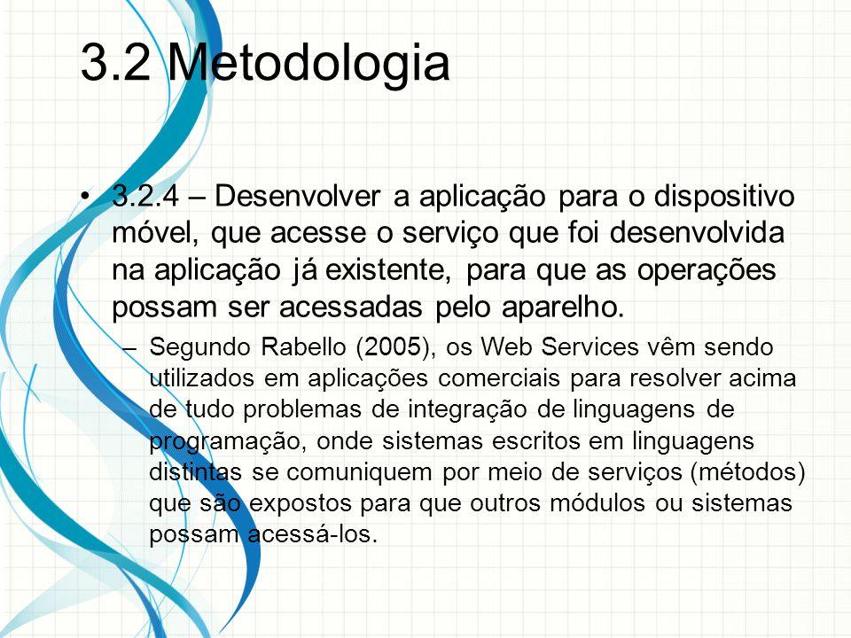3.2 Metodologia