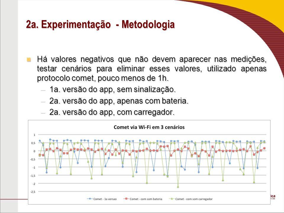 2a. Experimentação - Metodologia