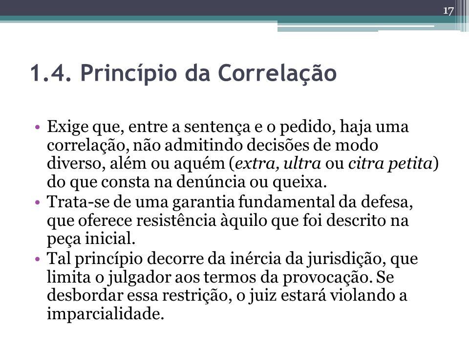 1.4. Princípio da Correlação