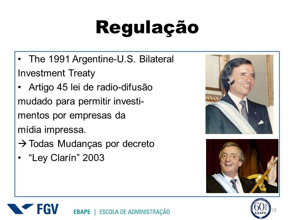 Regulação The 1991 Argentine-U.S. Bilateral Investment Treaty