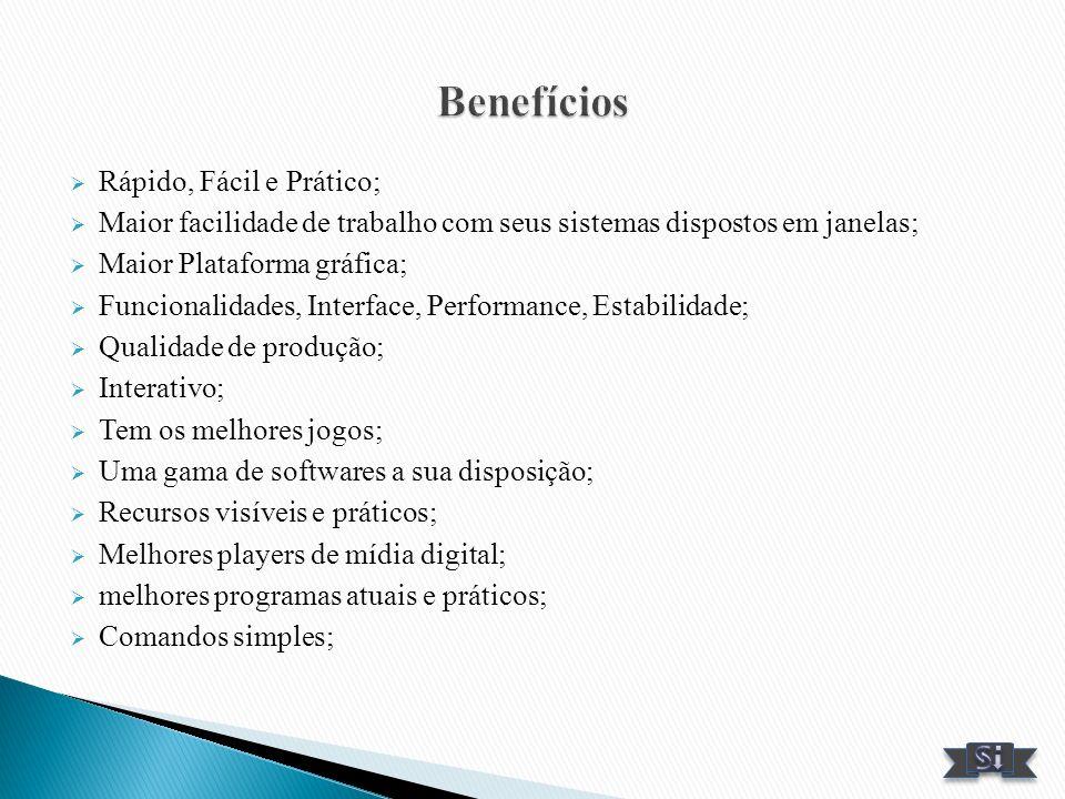 Benefícios Rápido, Fácil e Prático;