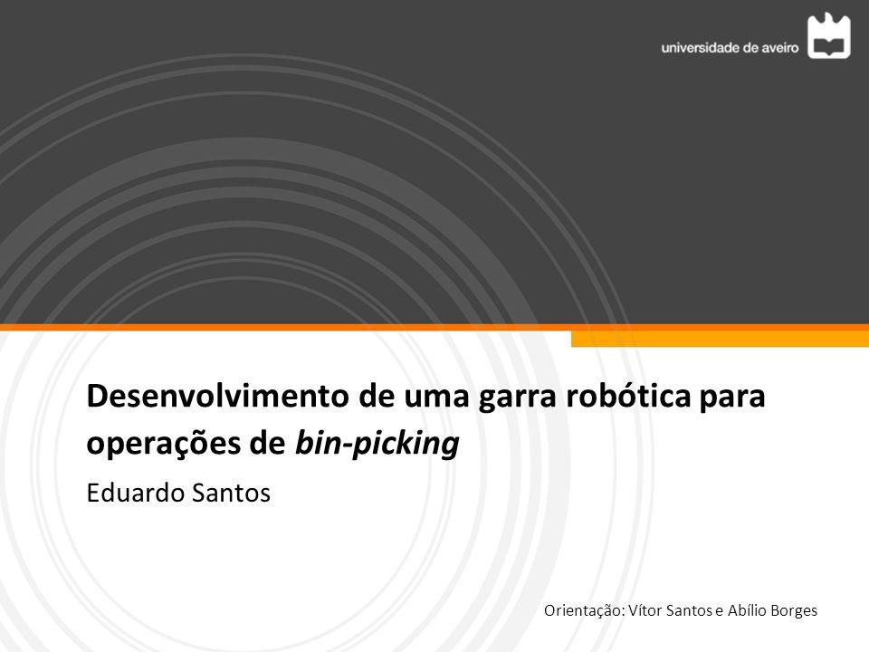 Desenvolvimento de uma garra robótica para operações de bin-picking