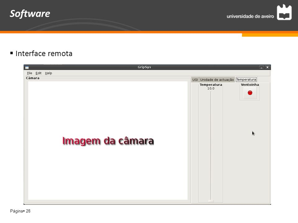Software Interface remota
