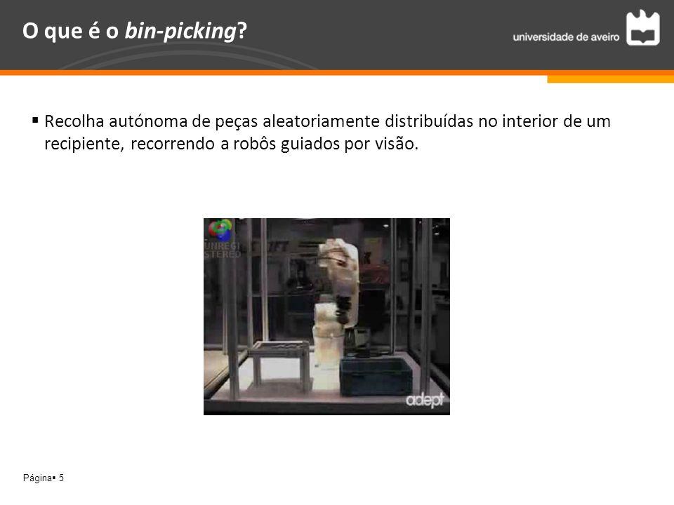 O que é o bin-picking.