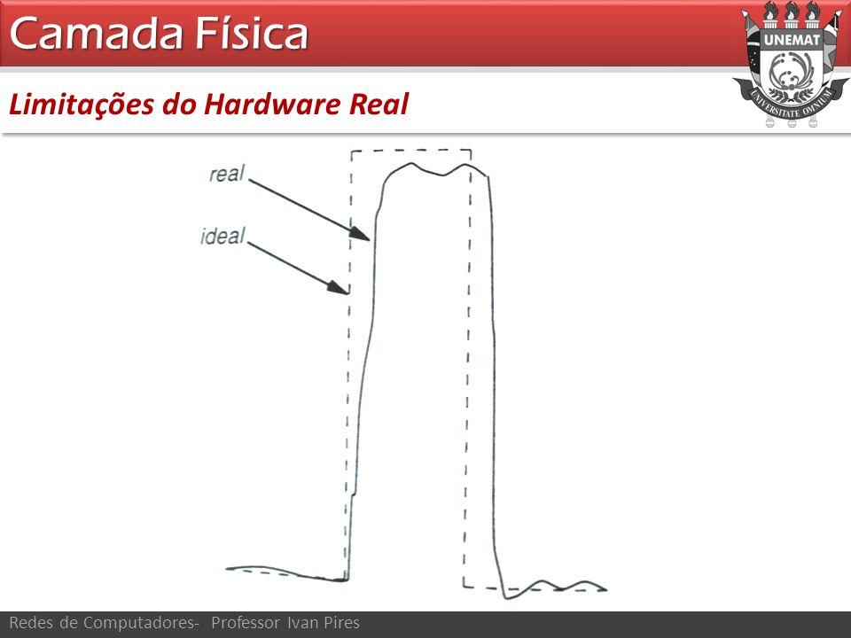 Camada Física Limitações do Hardware Real