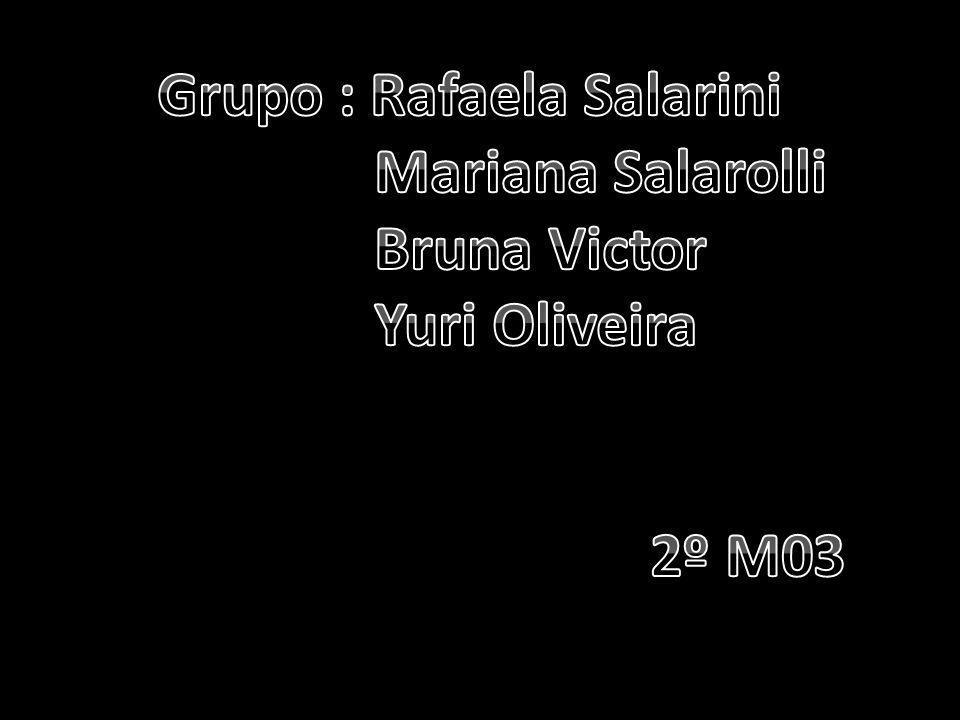 Grupo : Rafaela Salarini