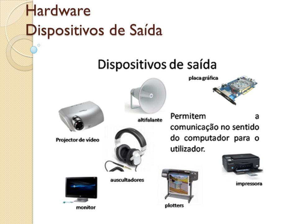 Hardware Dispositivos de Saída