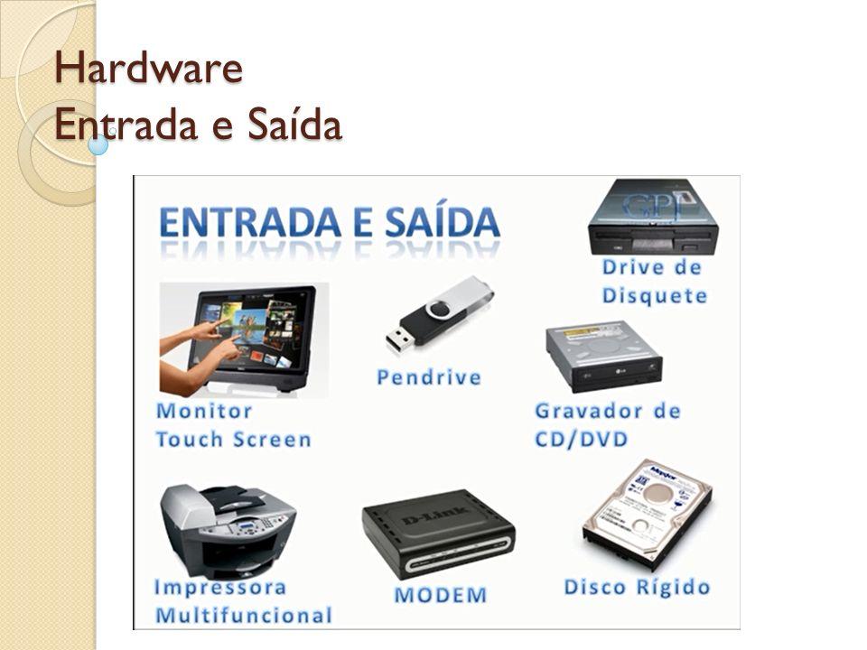 Hardware Entrada e Saída