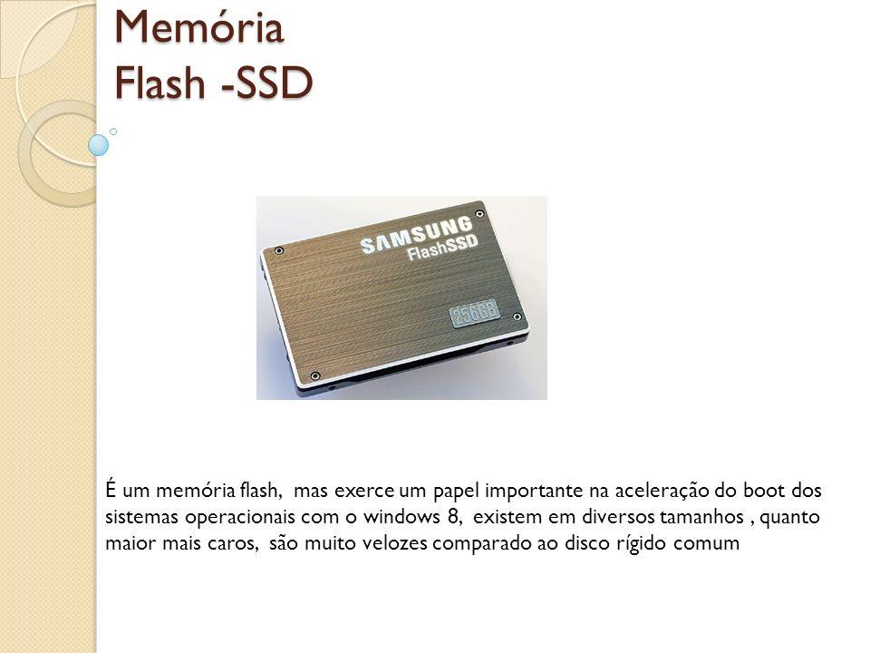 Memória Flash -SSD