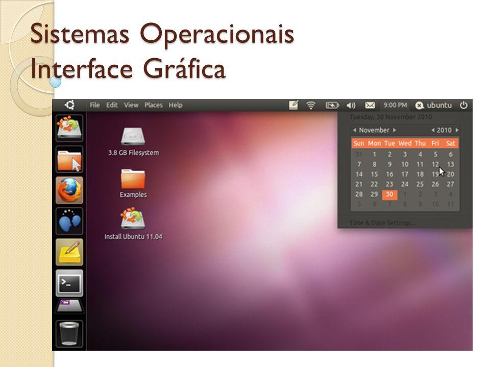 Sistemas Operacionais Interface Gráfica
