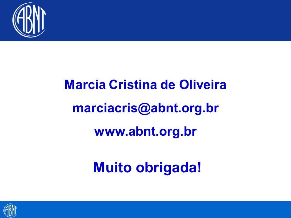 Marcia Cristina de Oliveira