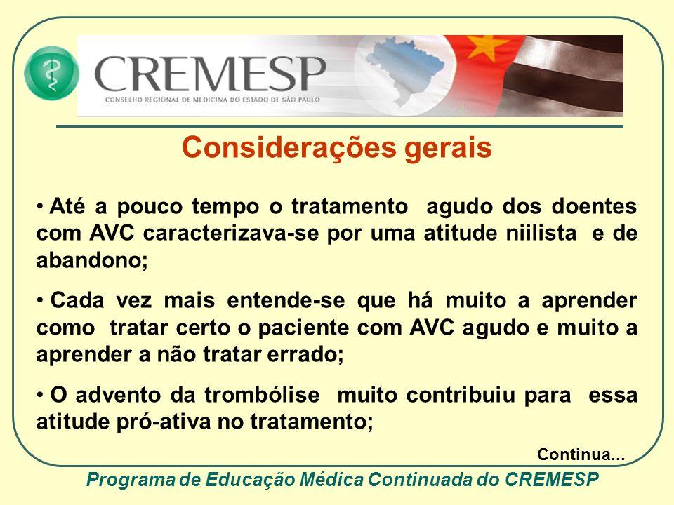 Programa de Educação Médica Continuada do CREMESP
