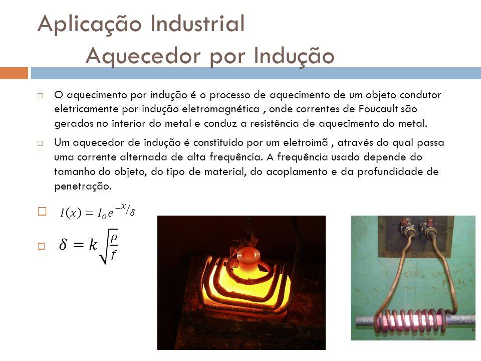 Aplicação Industrial Aquecedor por Indução
