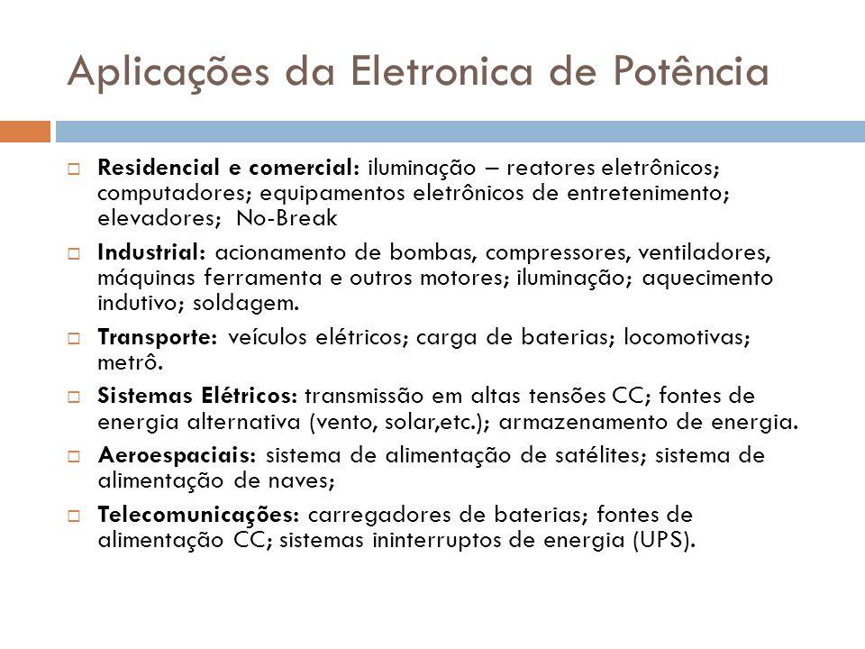 Aplicações da Eletronica de Potência