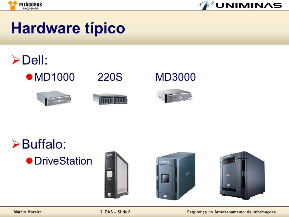Hardware típico Dell: MD1000 220S MD3000 Buffalo: DriveStation