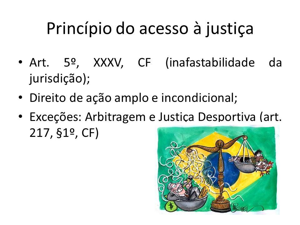 Princípio do acesso à justiça