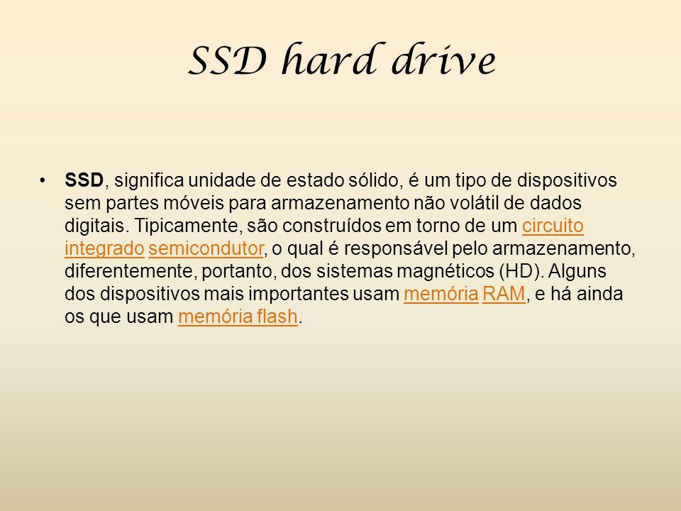 SSD hard drive
