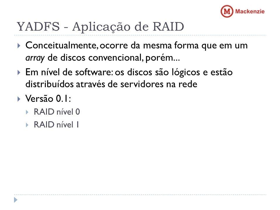 YADFS - Aplicação de RAID