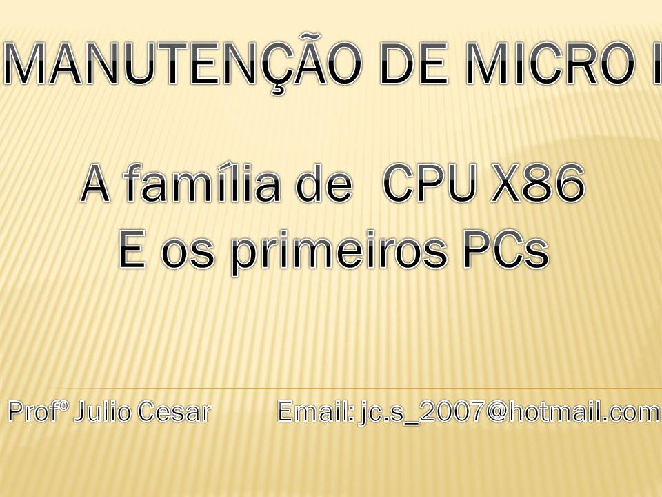 Profº Julio Cesar Email: jc.s_2007@hotmail.com