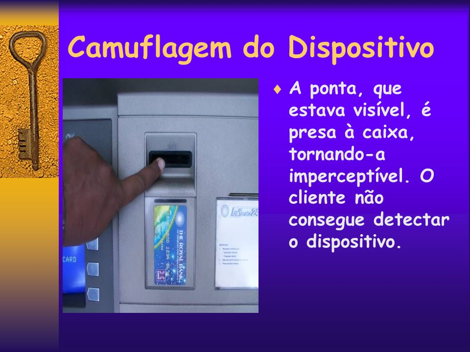 Camuflagem do Dispositivo