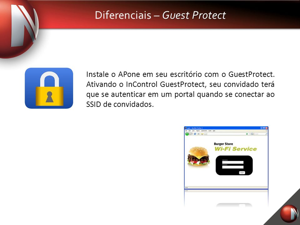Diferenciais – Guest Protect