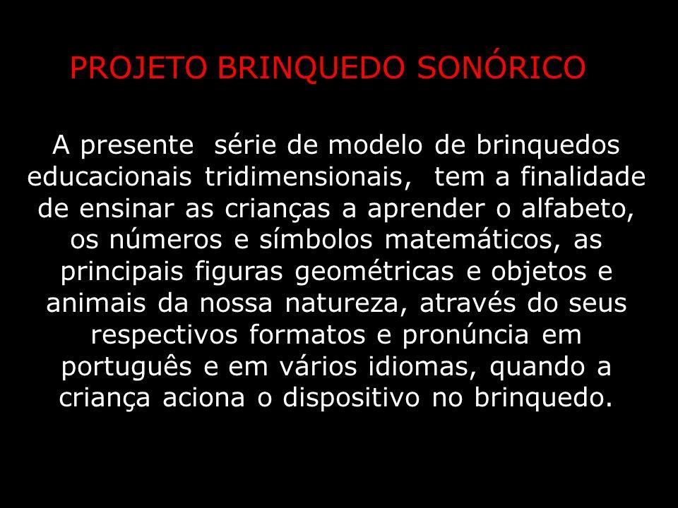 PROJETO BRINQUEDO SONÓRICO