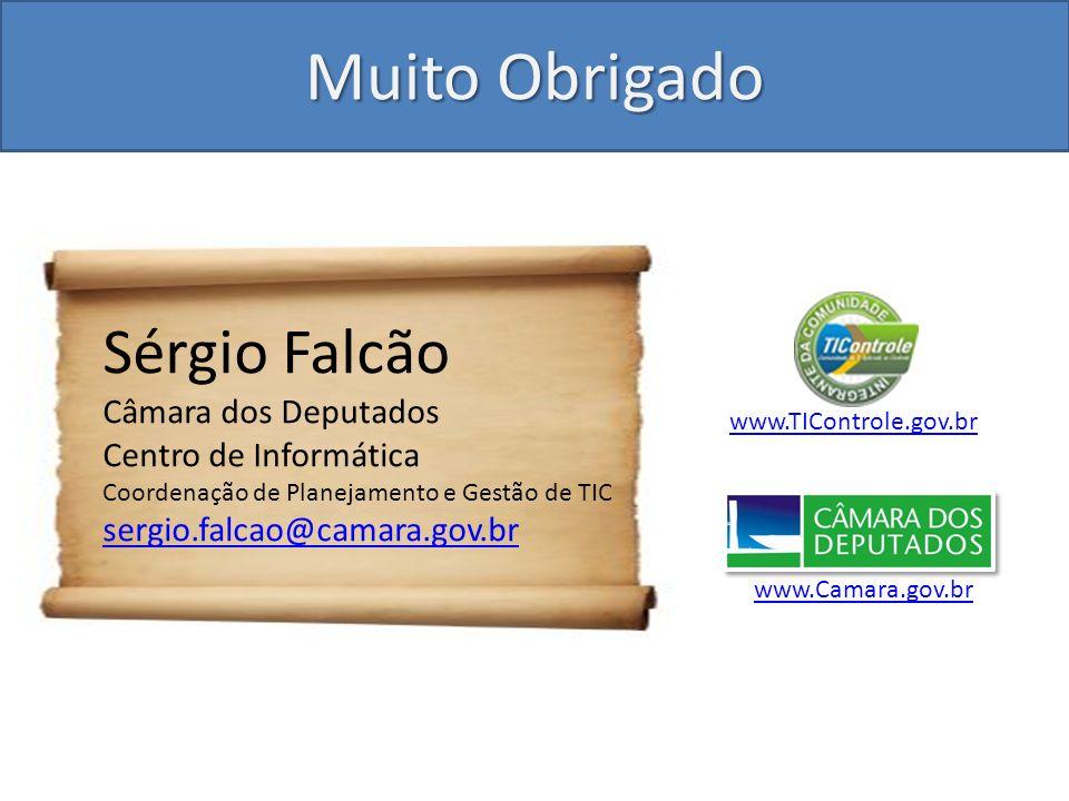 Muito Obrigado Sérgio Falcão Câmara dos Deputados