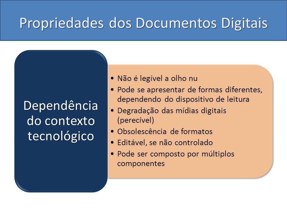 Propriedades dos Documentos Digitais