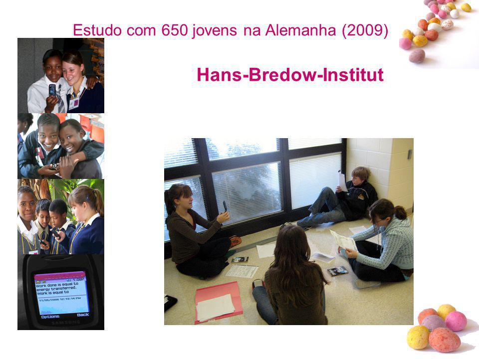 Estudo com 650 jovens na Alemanha (2009)