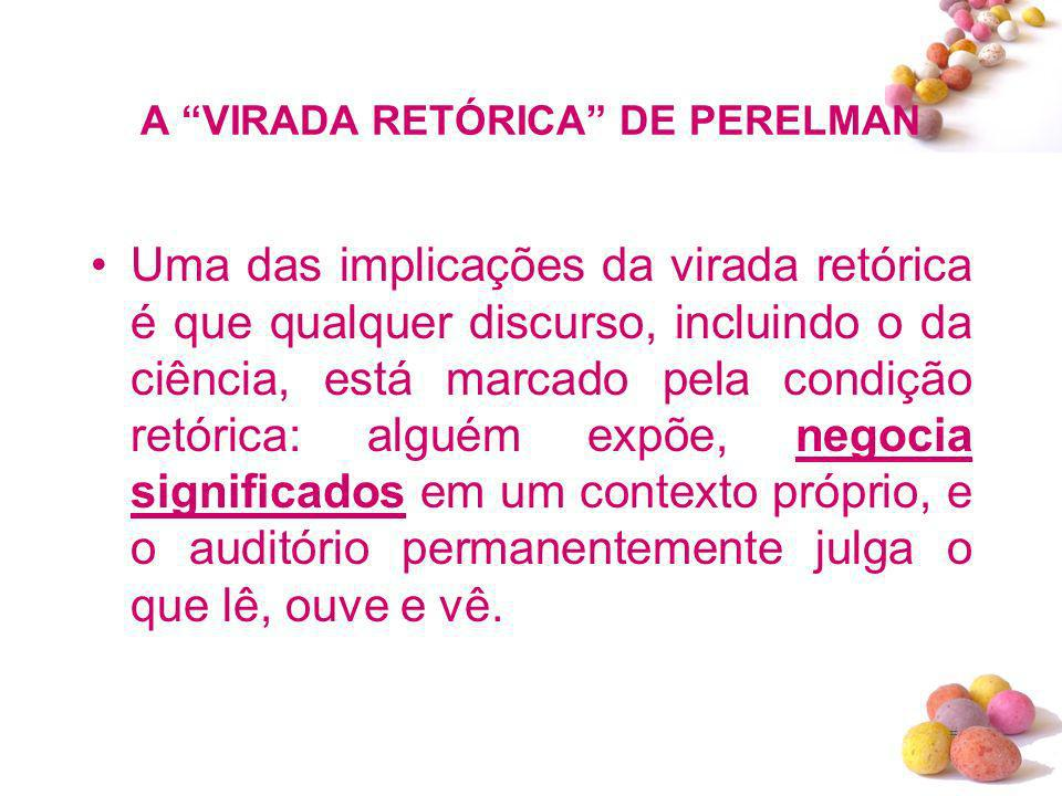 A VIRADA RETÓRICA DE PERELMAN
