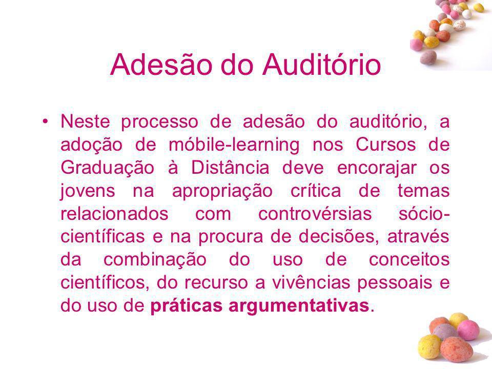 Adesão do Auditório