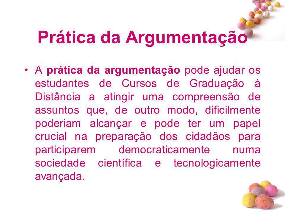Prática da Argumentação