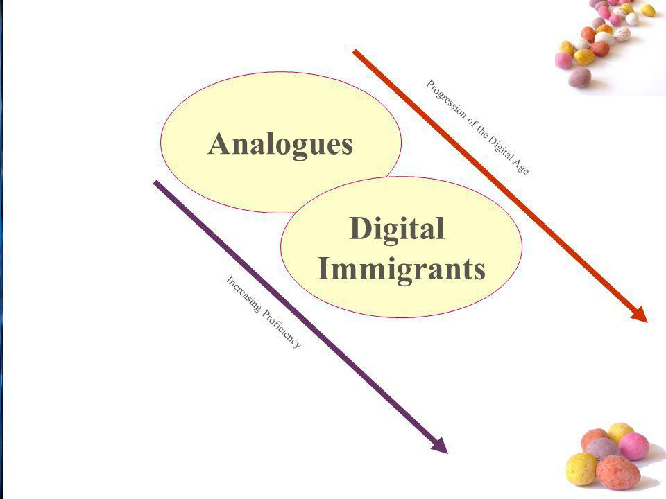 Analogues Digital Immigrants