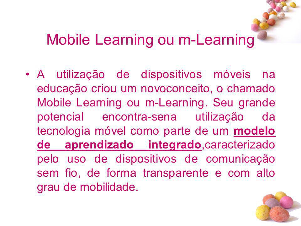 Mobile Learning ou m-Learning