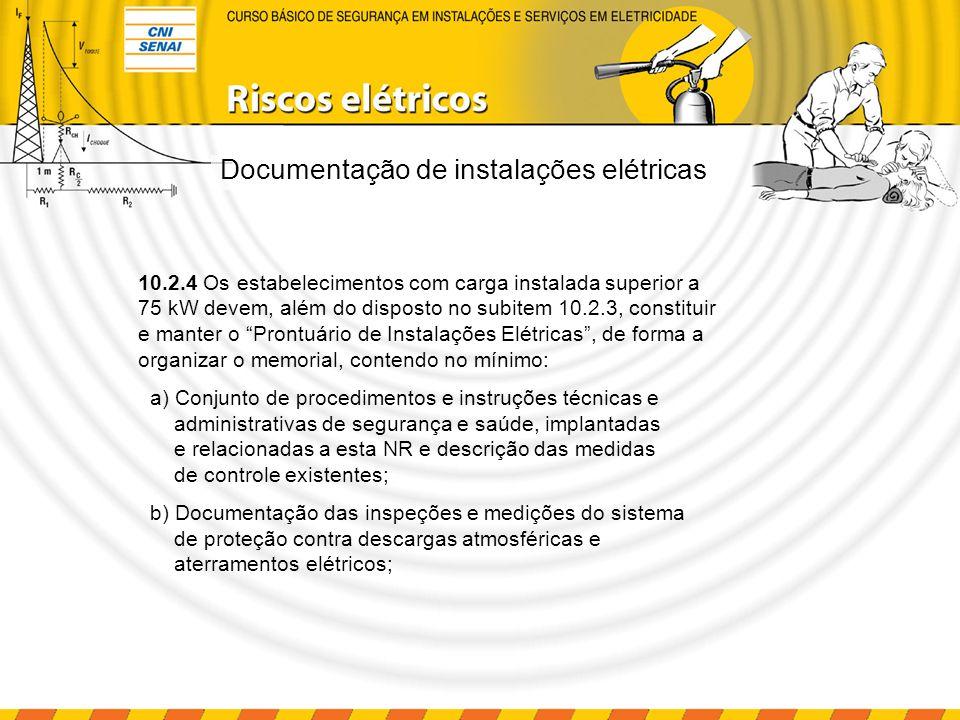 Documentação de instalações elétricas