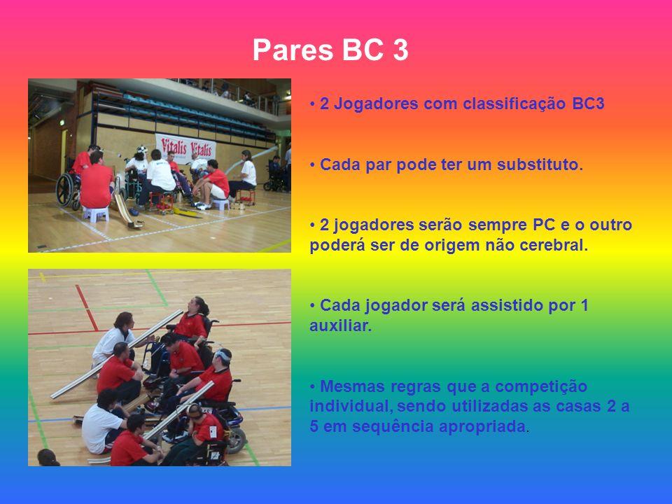 Pares BC 3 2 Jogadores com classificação BC3