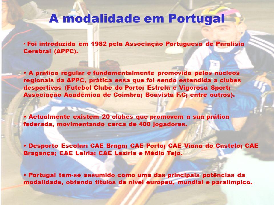 A modalidade em Portugal