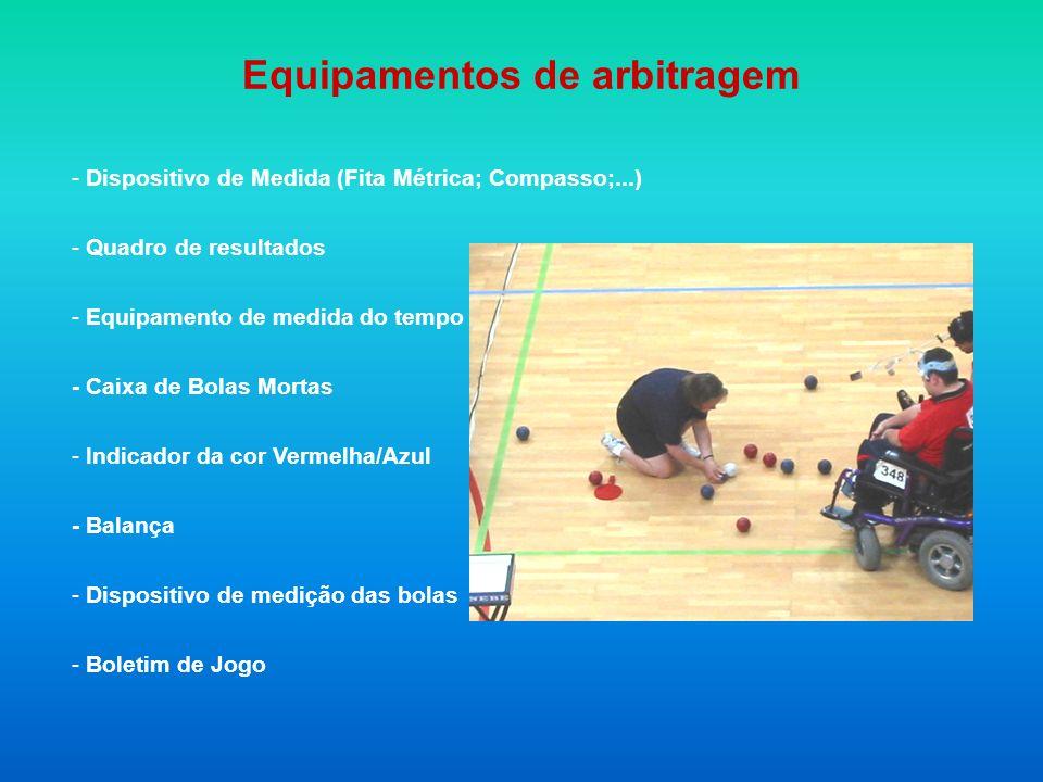 Equipamentos de arbitragem